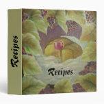 Recipes 3 Ring Binder