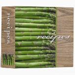 recipes (asparagus) vinyl binder