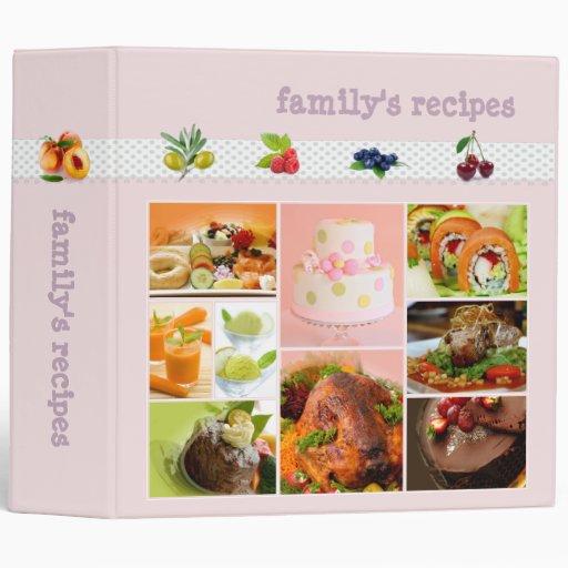 Recipes binders
