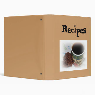 Recipes Cookies And Coffee Avery Binder