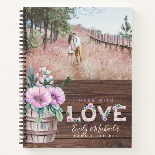 RECIPES - Family Heirloom Mother Grandma Wife Notebook