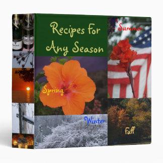 Recipes for any Season Binder