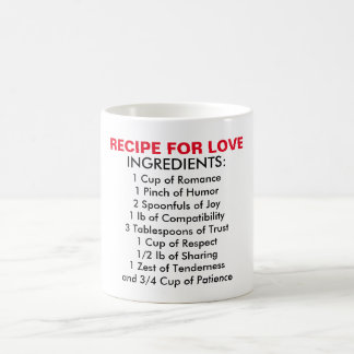 Recipes For Love Mug