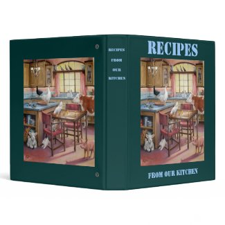 Recipes From Our Kitchen Binder binder