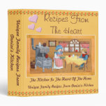 Recipes From The Heart 1.5 inch Recipe Binder