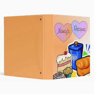 Recipes From The Heart 3 Ring Binder