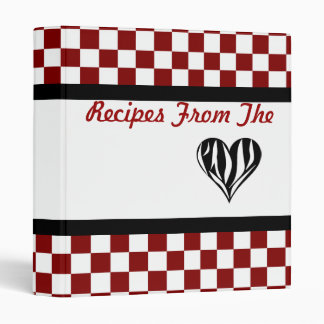 Recipes From The Heart Binder