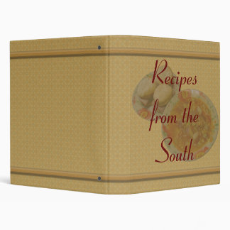 Recipes from The South Vinyl Binder