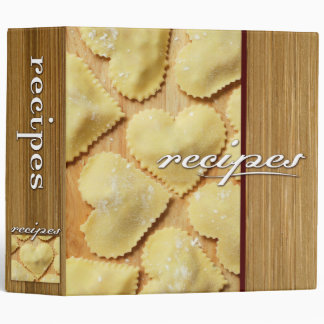 recipes (ravioli) vinyl binders