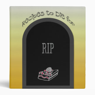 Recipes to Die for Binder
