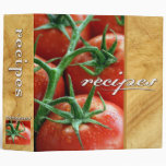 recipes (tomatoes) 3 ring binder