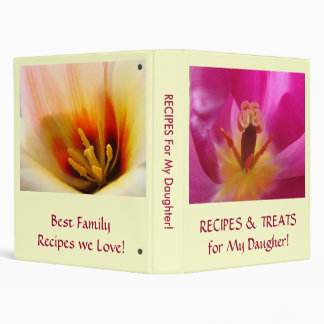 Recipes & Treats for My Daughter! Valentines Gift Binder