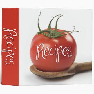 recipes (wooden spoon) 3 ring binders