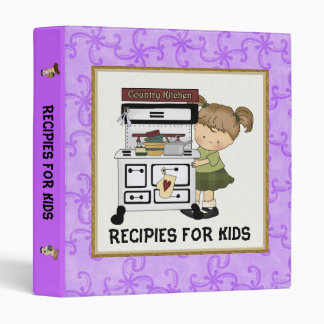 Recipies For Kids Binder