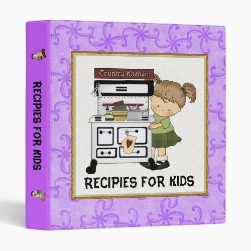 Recipies For Kids Binder