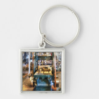 Reciprocating Flatbed Planer Keychain