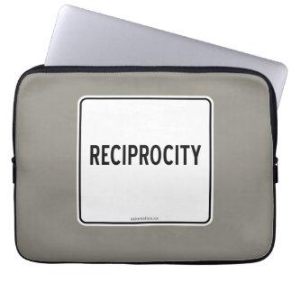 RECIPROCITY LAPTOP SLEEVE