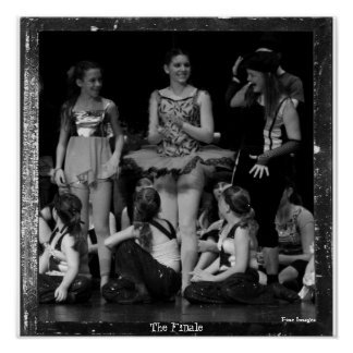 recital 35 065 (2)b, The Finale, Fine Images Poster