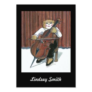 Recital Invitation - Cello