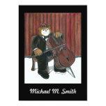 """Recital Invitation - Cello 5"""" X 7"""" Invitation Card"""