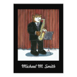 Recital Invitation - Saxophone