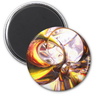 Reckless Defiance Pastel Abstract Fridge Magnet