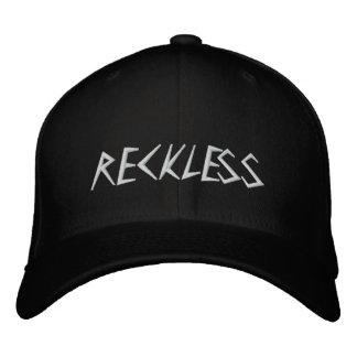 RECKLESS EMBROIDERED BASEBALL HAT