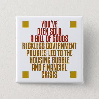 Reckless Government Policies Button