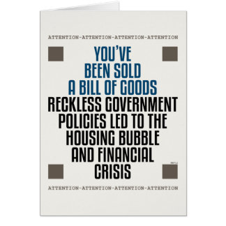 Reckless Government Policies Card