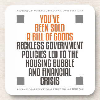 Reckless Government Policies Coaster