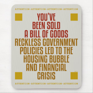 Reckless Government Policies Mouse Pad