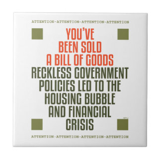 Reckless Government Policies Tile