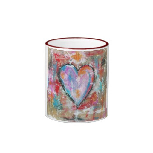 Reckless Heart Original Painting Coffee Mugs