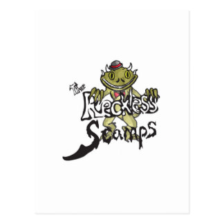 reckless scamps scamp decal postcard