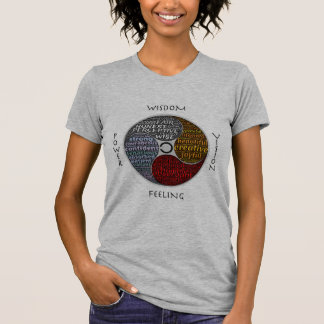 Reclaim inherent wholeness and presence tshirt
