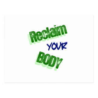 Reclaim Your Body Postcard