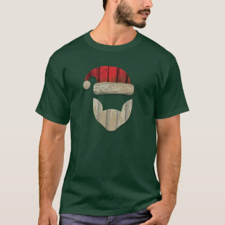 Reclaimed Barnwood Santa T-Shirt