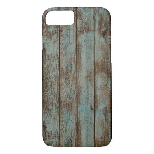 Reclaimed wood lumber wall floor cool recycle grai iPhone 8/7 case