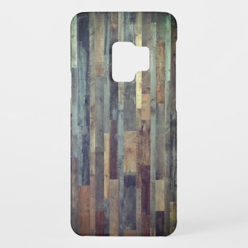 Reclaimed wood lumber wall floor cool recycle grai Case-Mate samsung galaxy s9 case