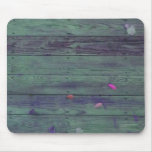 Reclaimed Wood Planks Mouse Pad