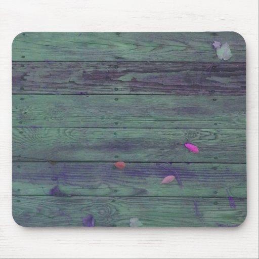 Reclaimed Wood Planks Mousepad