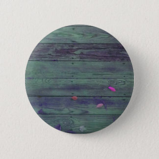 Reclaimed Wood Planks Pinback Button