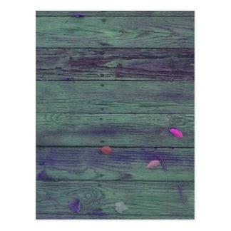 Reclaimed Wood Planks Postcard