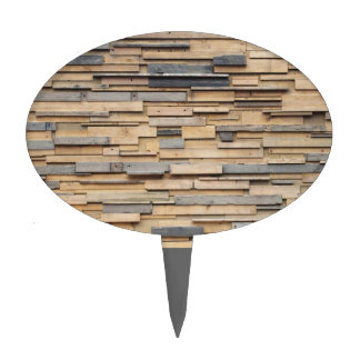 Reclaimed Wood, Sustainable Material Cake Picks
