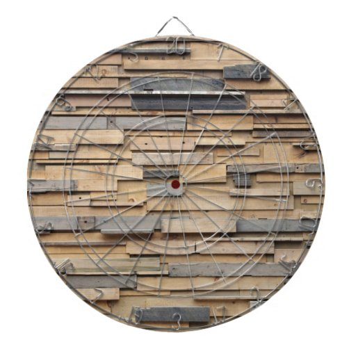 Reclaimed wood sustainable material dart board zazzle for Why is wood sustainable