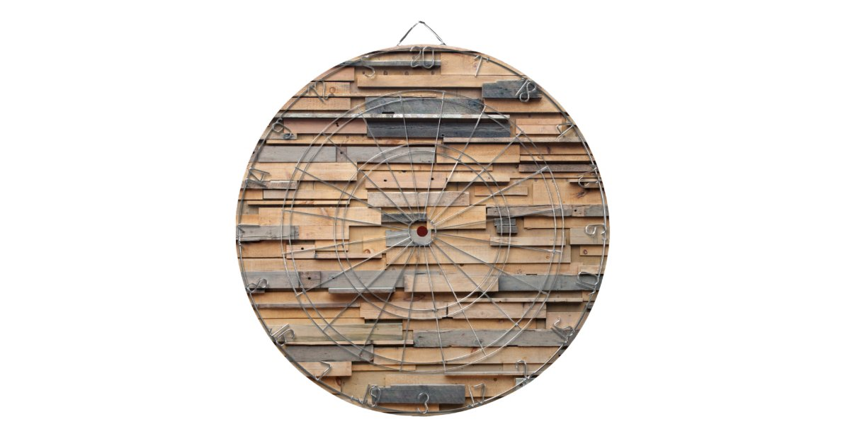 Reclaimed wood sustainable material dart boards zazzle for Why is wood sustainable