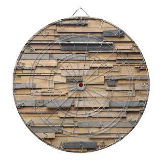 Reclaimed Wood, Sustainable Material Dartboard