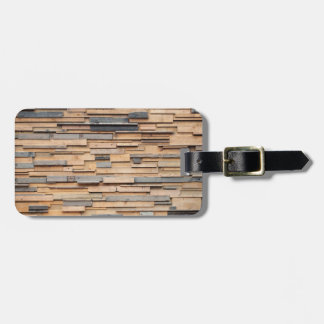 Reclaimed Wood, Sustainable Material Luggage Tag