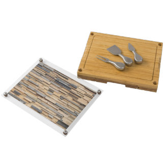 Reclaimed Wood, Sustainable Material Rectangular Cheeseboard