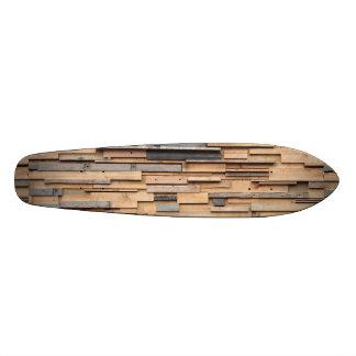 Reclaimed Wood, Sustainable Material Custom Skate Board
